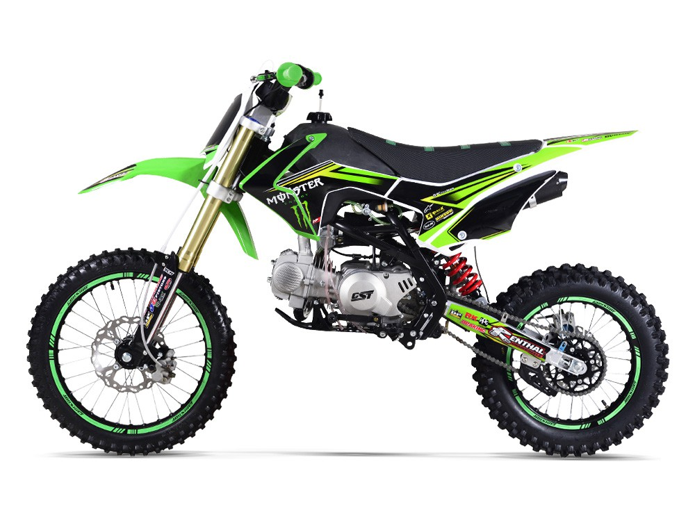 GUNSHOT Pit Bike MONSTER ENERGY édition