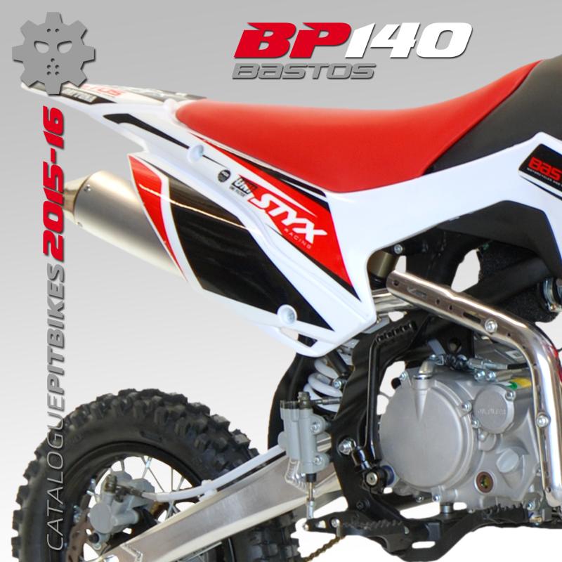Pit Bike BASTOS – BP 140 BASTOS BIKE Fabricant de pit bike, small bike,