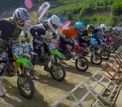 course tarare championnat france pit bike