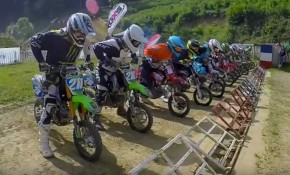 course tarare championnat france pit bike
