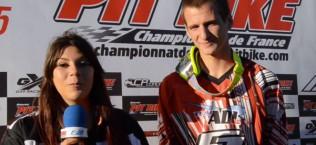 meissex podium championnat france pit bike