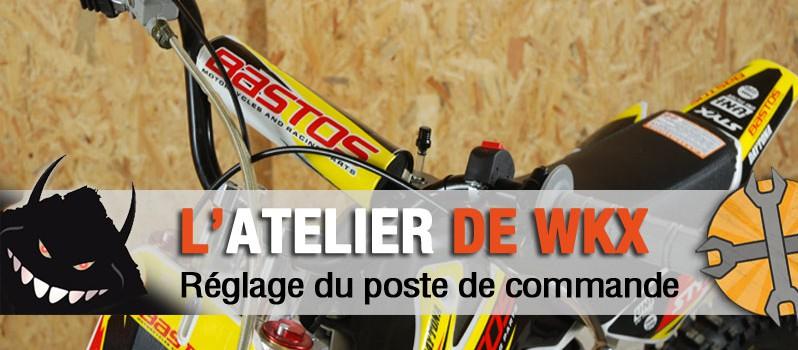 atelier reglage guidon pit bike
