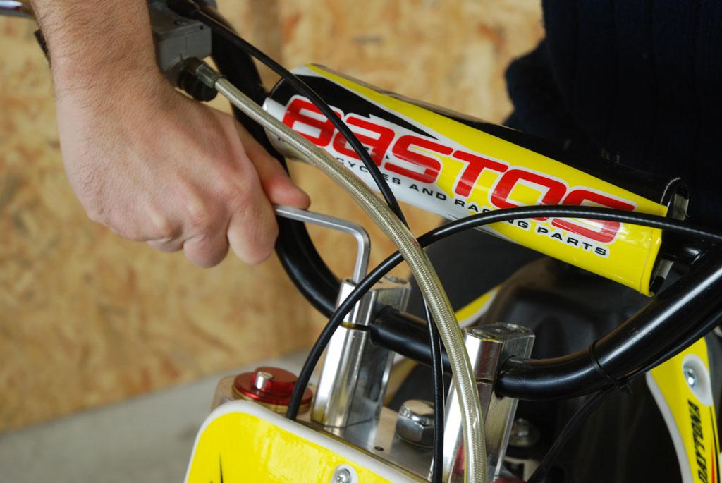 pit bike bastos bs 125 guidon