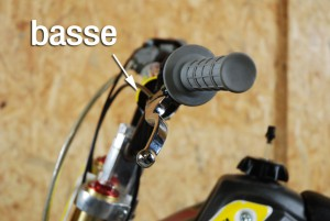 mini moto bastos bs 125 levier