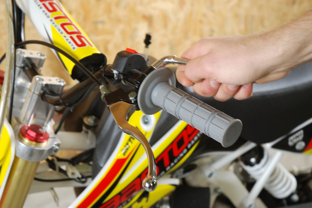 pit bike bastos bs 125 levier
