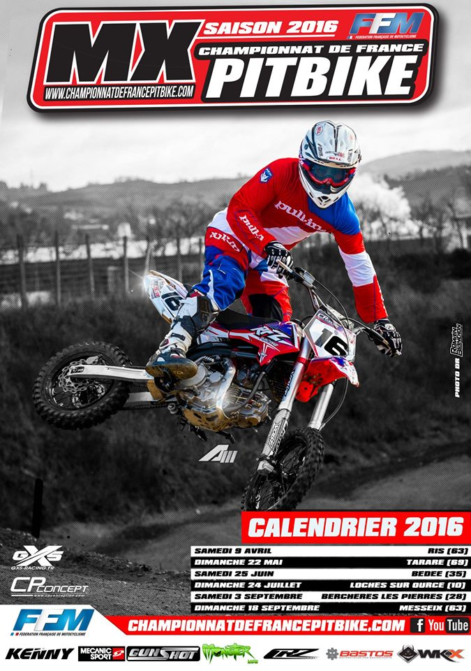 Championnat france Pit Bike 2016