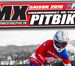 affiche championnat france pit bike