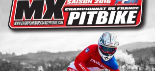 affiche championnat france pit bike