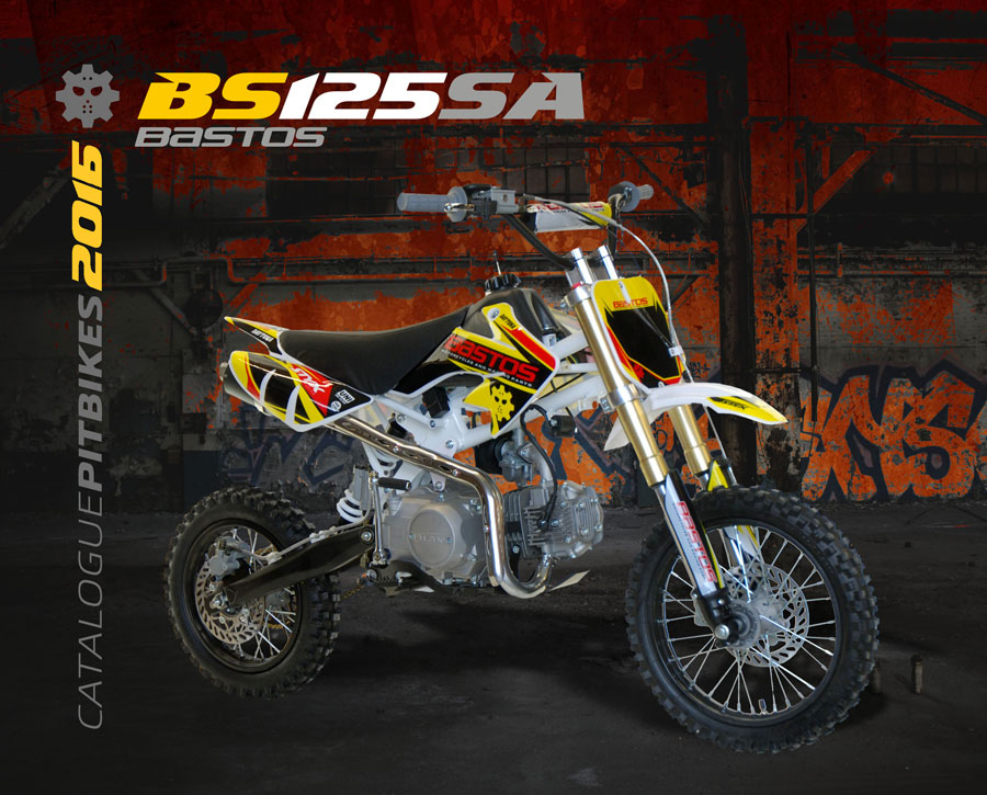 Pit Bike BASTOS BIKE BS 125 SA édition 2016