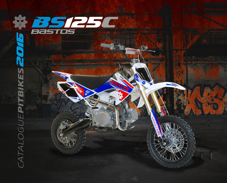 Pit Bike BASTOS BIKE BS 125 C édition 2016