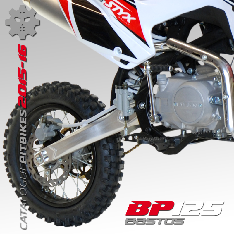 Pit Bike BASTOS BIKE BP 125 édition 2016