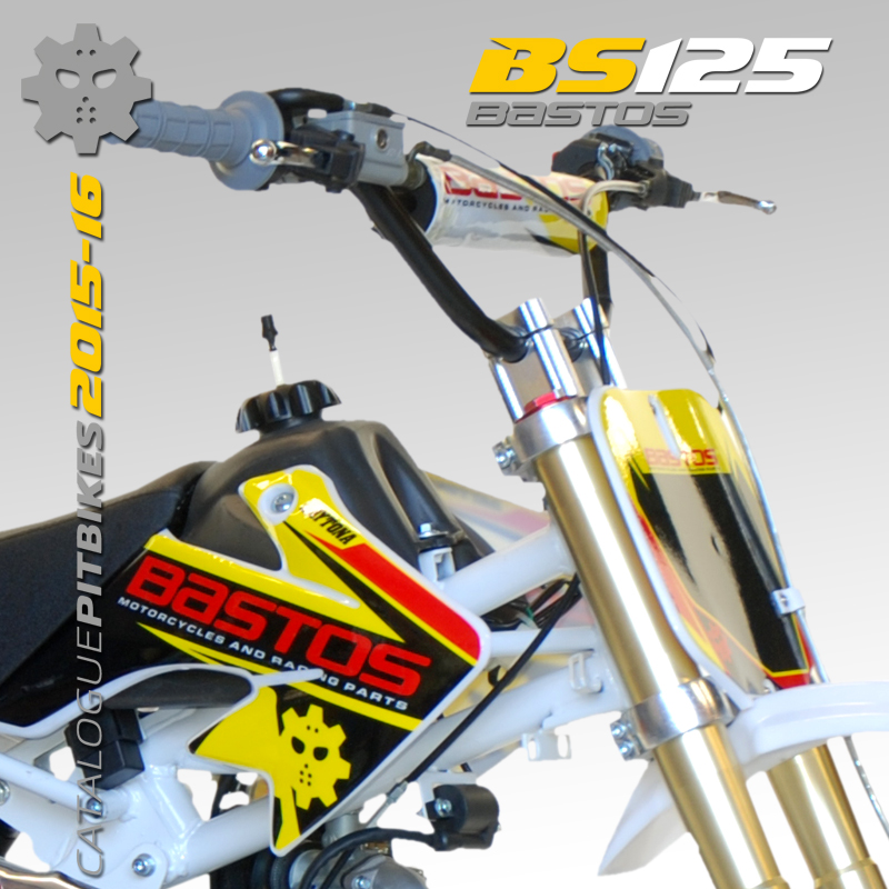 Pit Bike BASTOS BIKE BS 125 édition 2016