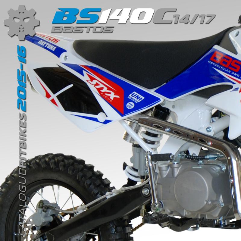 Pit Bike BASTOS BIKE BS 140 C grande roue édition 2016