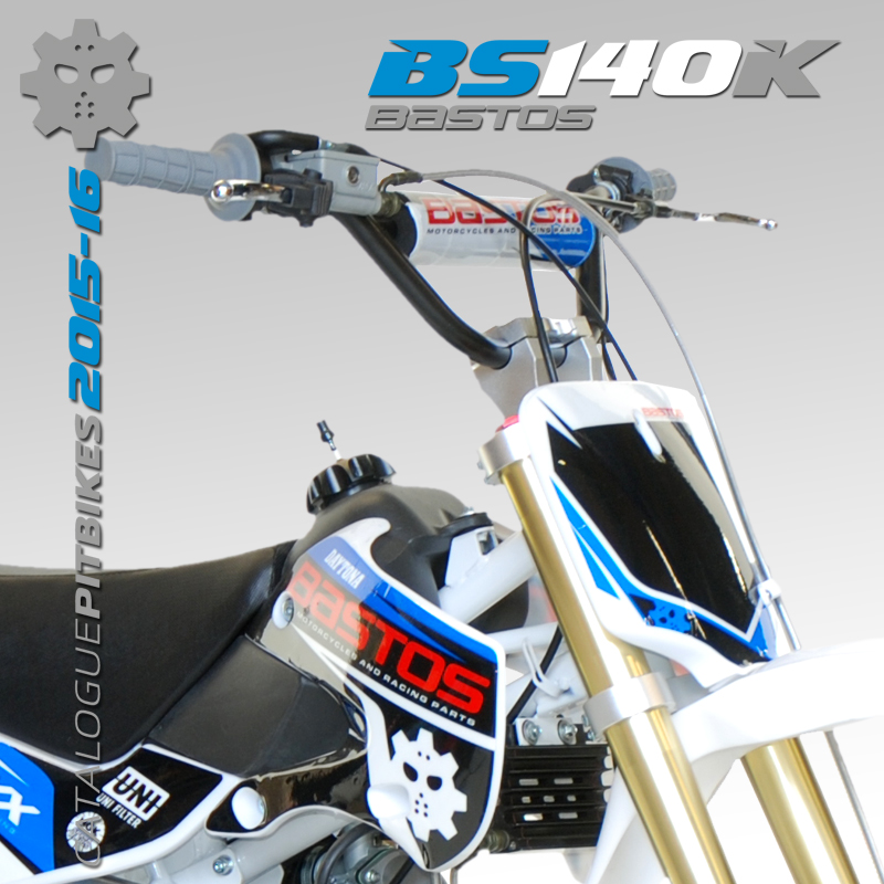 Pit Bike BASTOS BIKE BS 140 K édition 2016