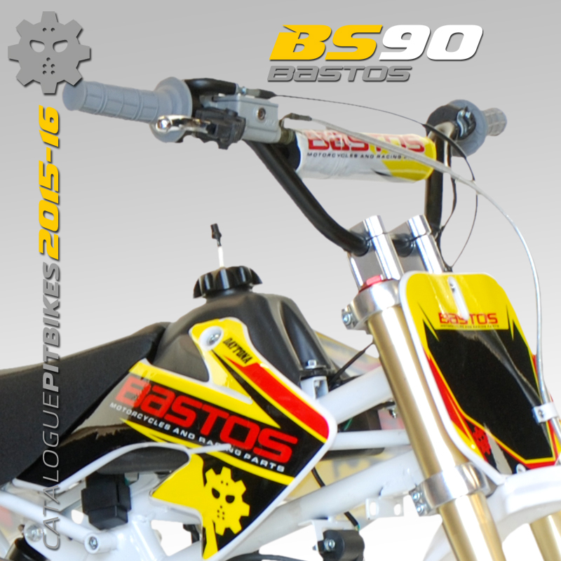 Pit Bike BASTOS BIKE BS90 édition 2016