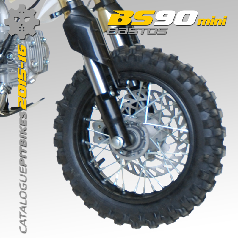 Pit Bike BASTOS BIKE BS90 mini édition 2016