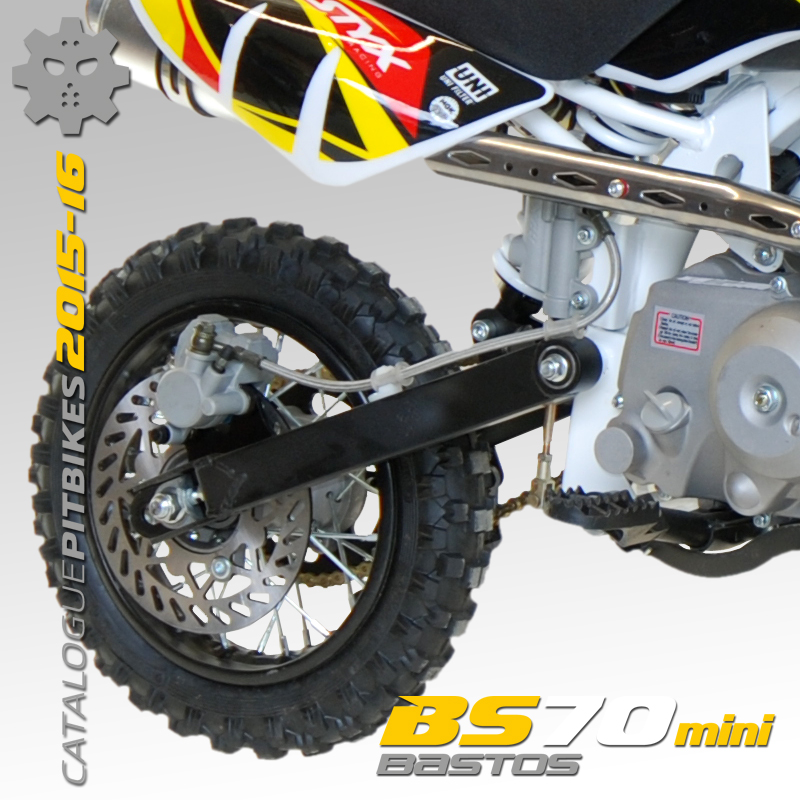 Pit Bike BASTOS BIKE BS70 mini édition 2016