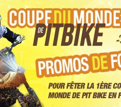 coupe monde pit bike promos