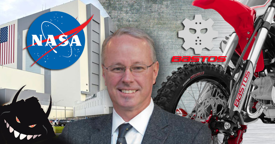 La NASA acquiert la marque de Pit Bike BASTOS BIKE