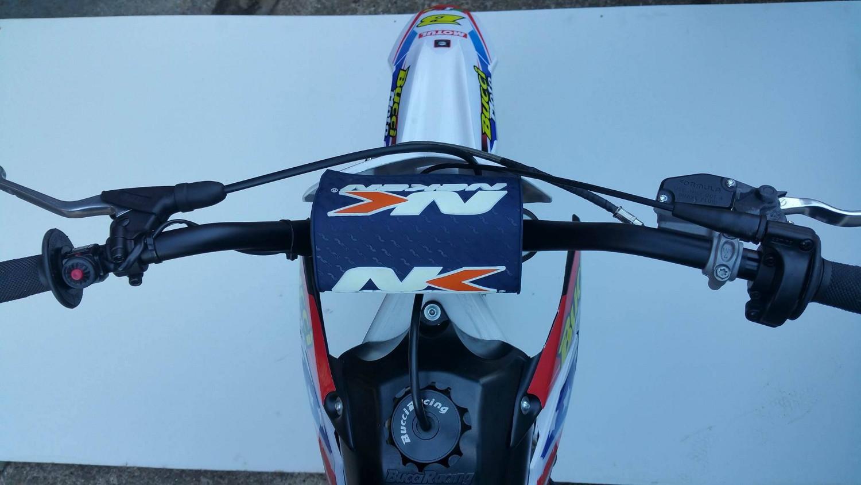 bucci moto BR1 F15 R pit bike vue dessus