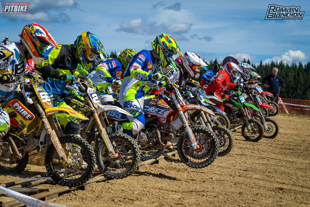 Mini moto championnat france ris 2016