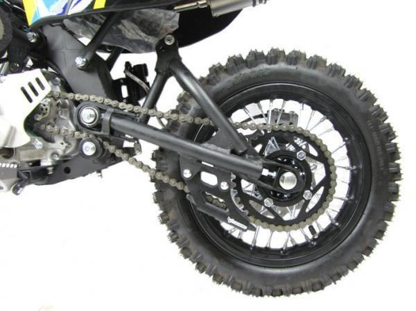 pit bike pitsterpro mx110 roue