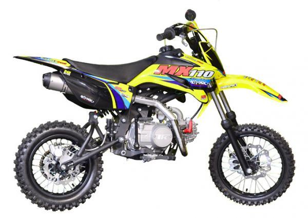 pit bike pitsterpro mx110