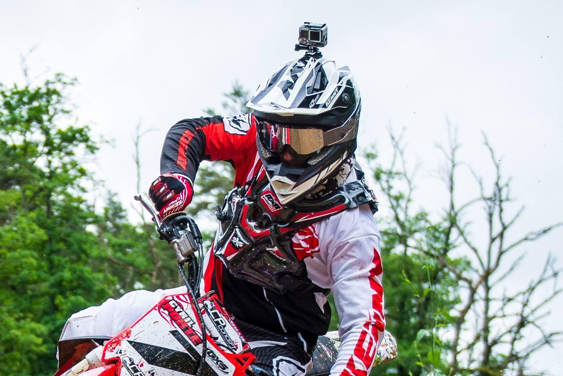 rider pit bike go pro