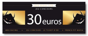 ticket or jeu concours pit bike
