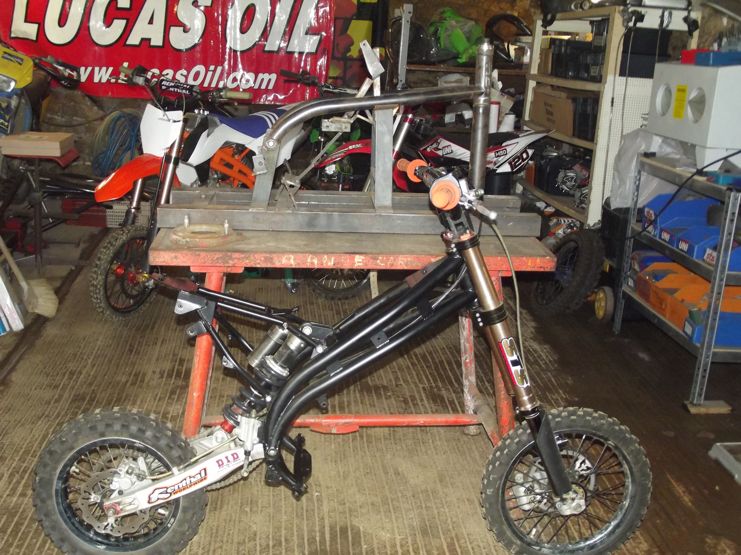 TRC mini bike off7craft cadre