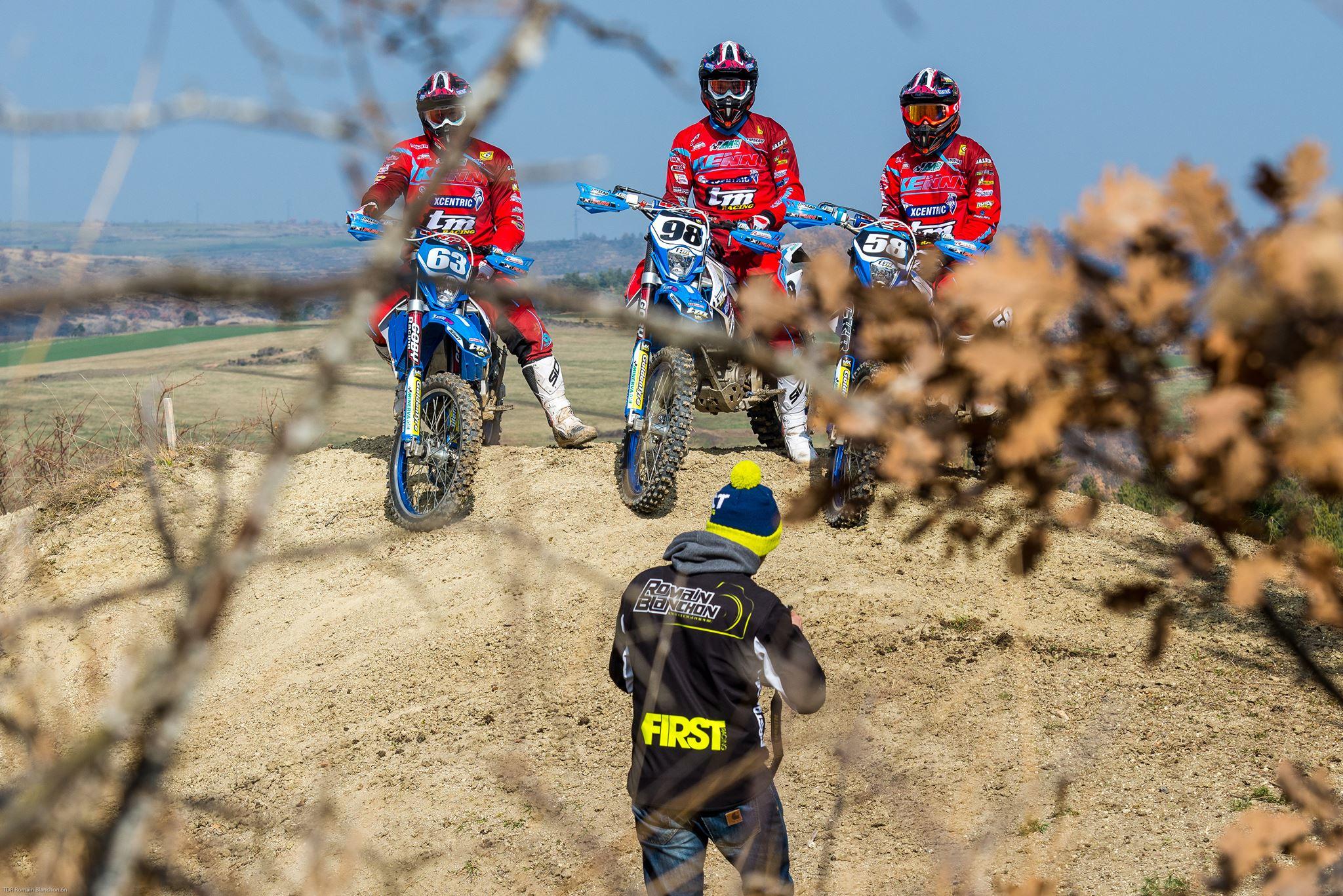 pit bike photographe romain blanchon