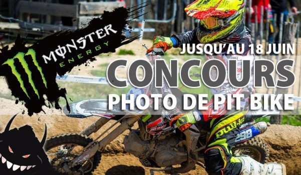 pit bike monster energy concours