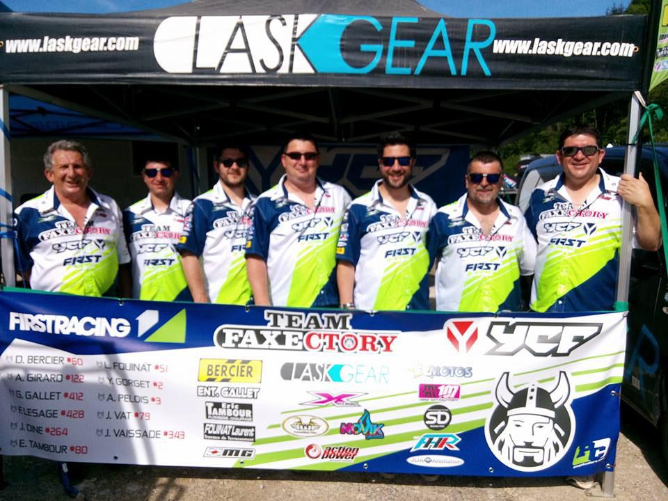 pit bike team faxectory laskgear