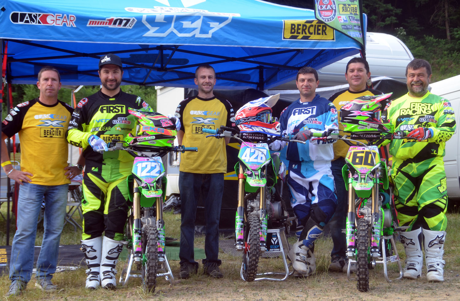 pit bike team faxectory ycf