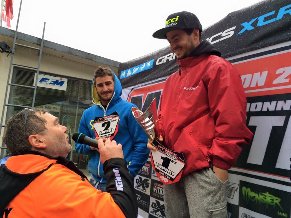 podium pit bike tarare expert