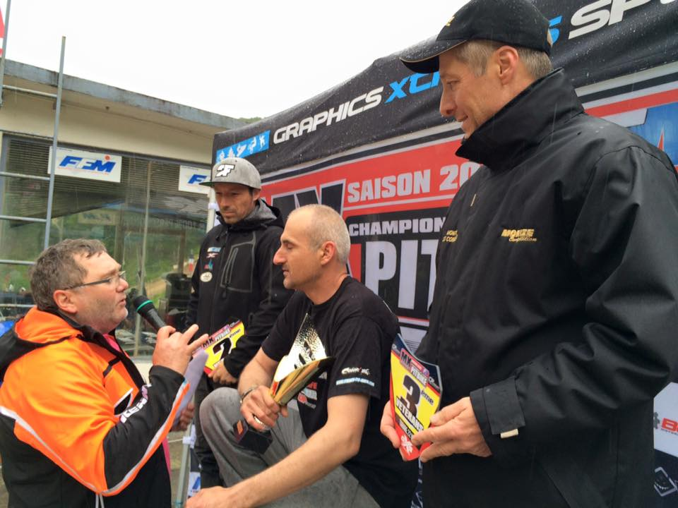 podium pit bike tarare veteran