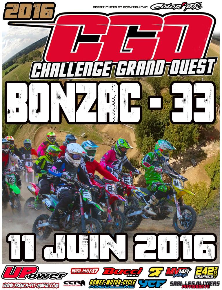 bonzac cgo 2016 pit bike