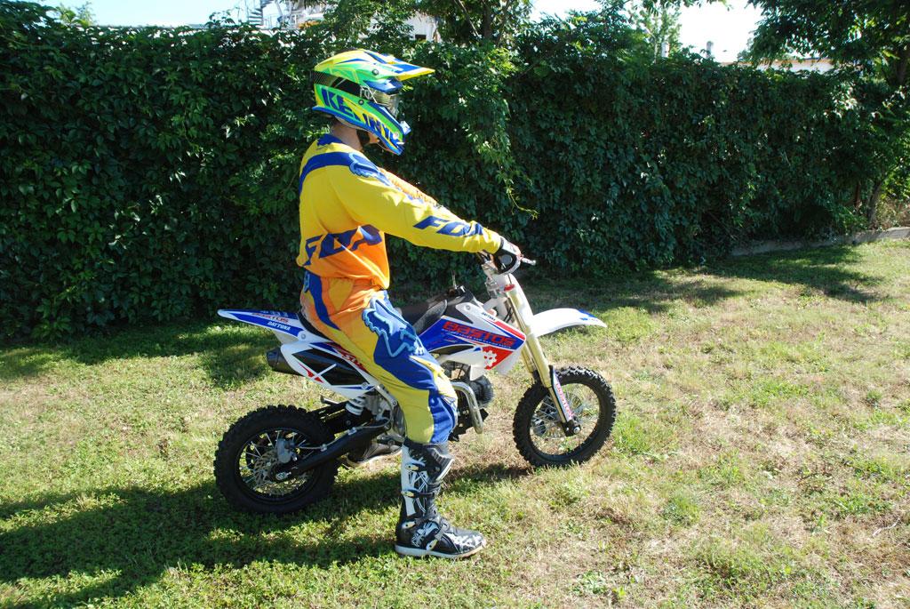 pit bike bastos bike 140