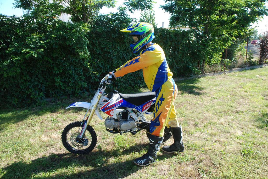 pit bike bastos bike pilote