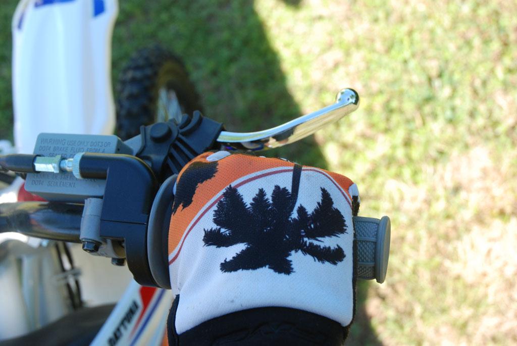pit bike poignee gaz