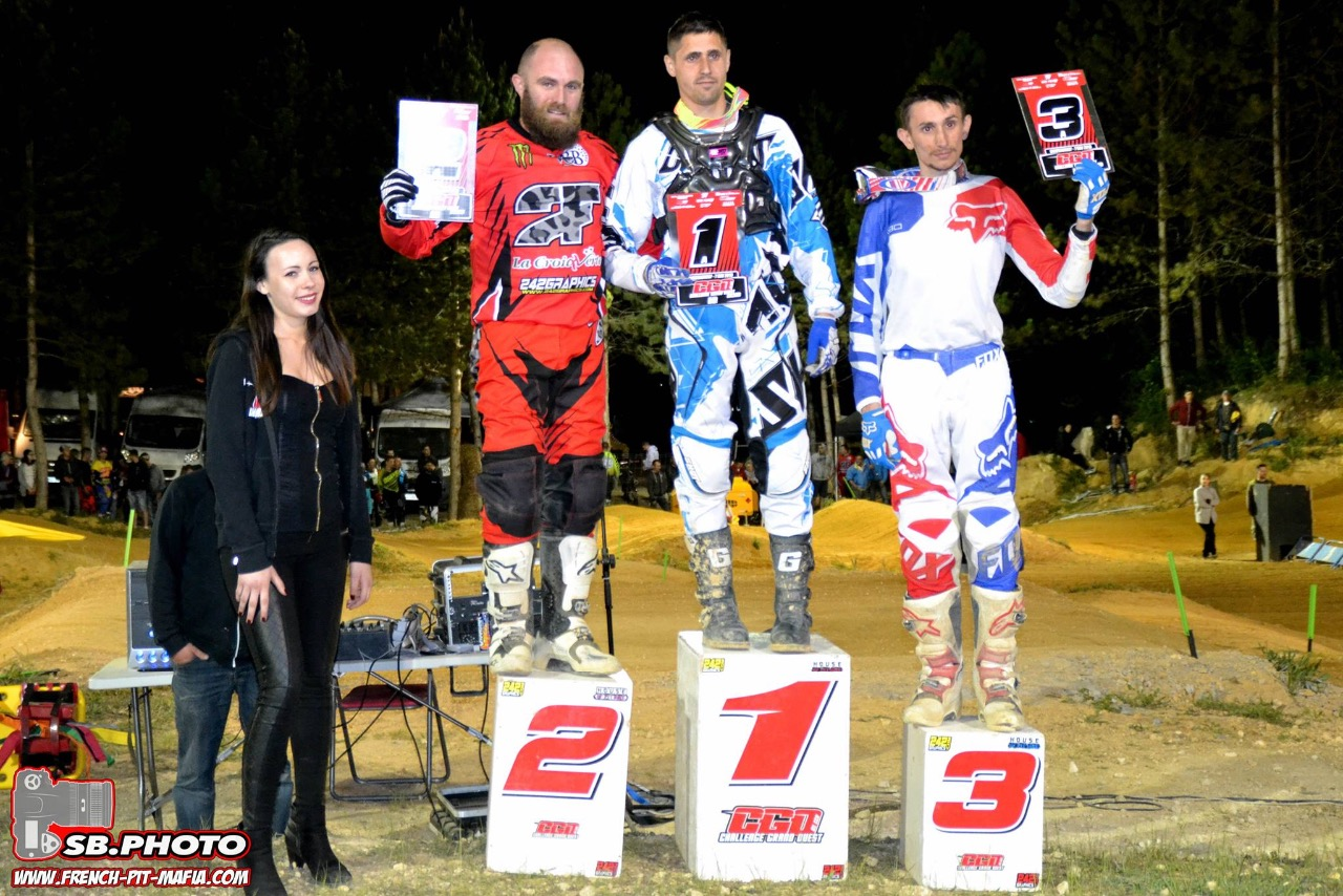 podium amateur A cgo 2016 pit bike