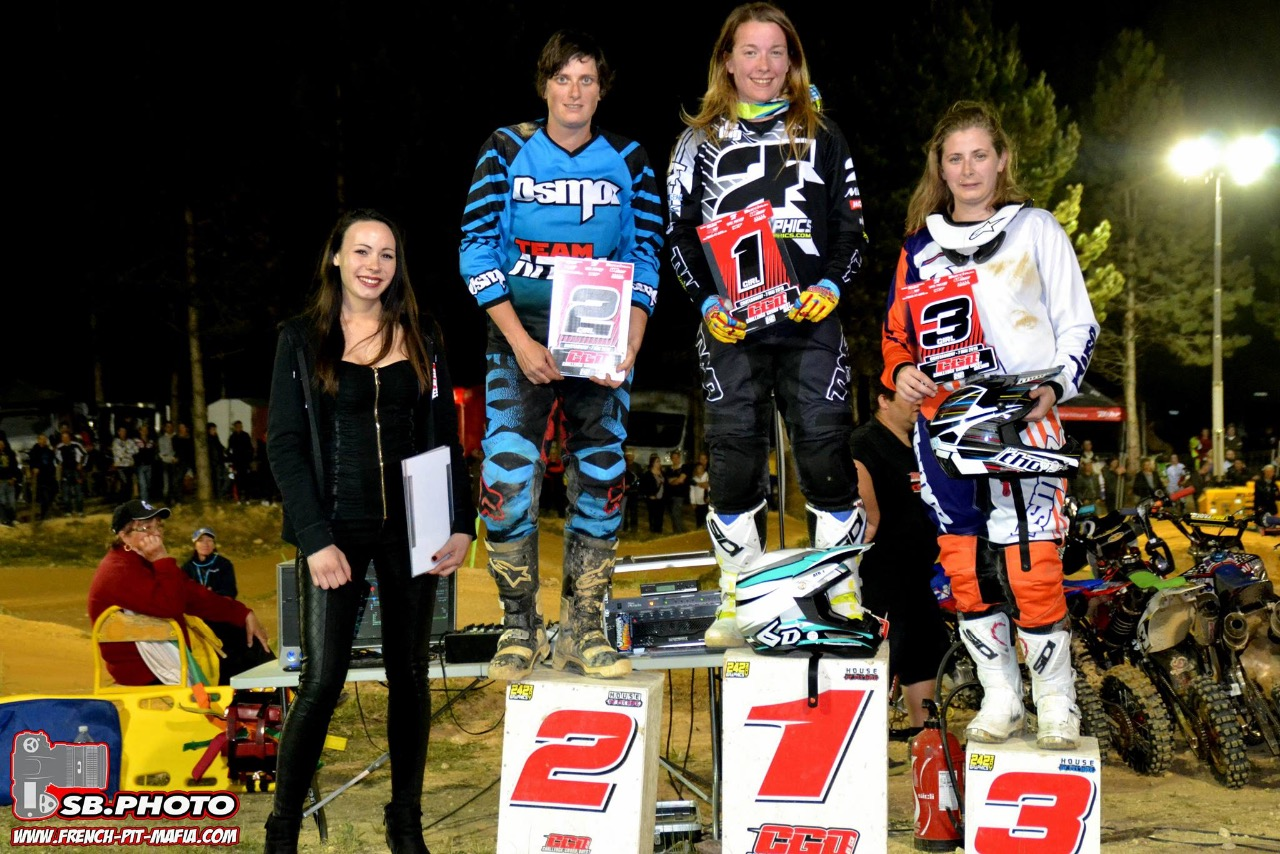 podium girl cgo 2016 pit bike