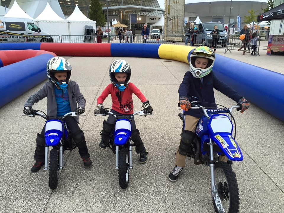smx concept ecole pilotage enfant pit bike