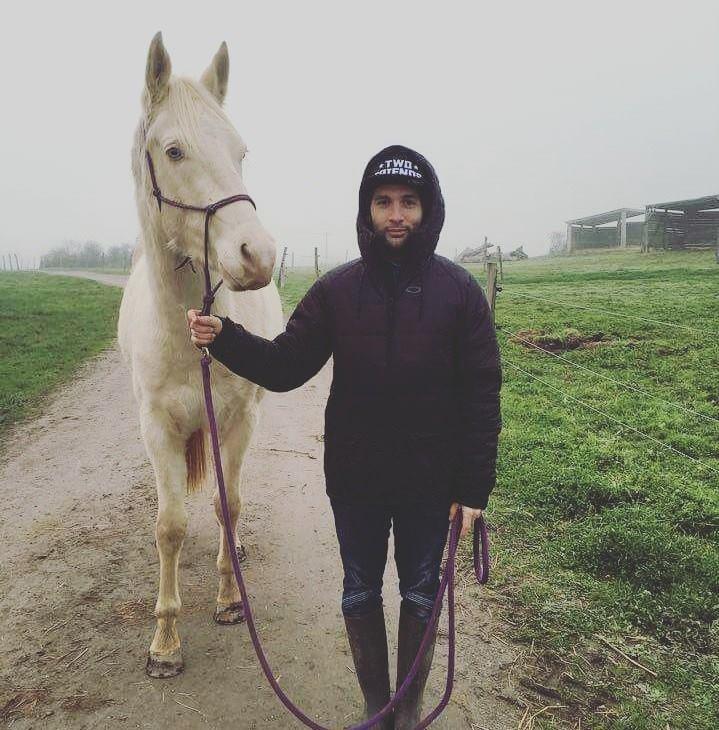 Gauthier GOURJAULT pit bike cheval