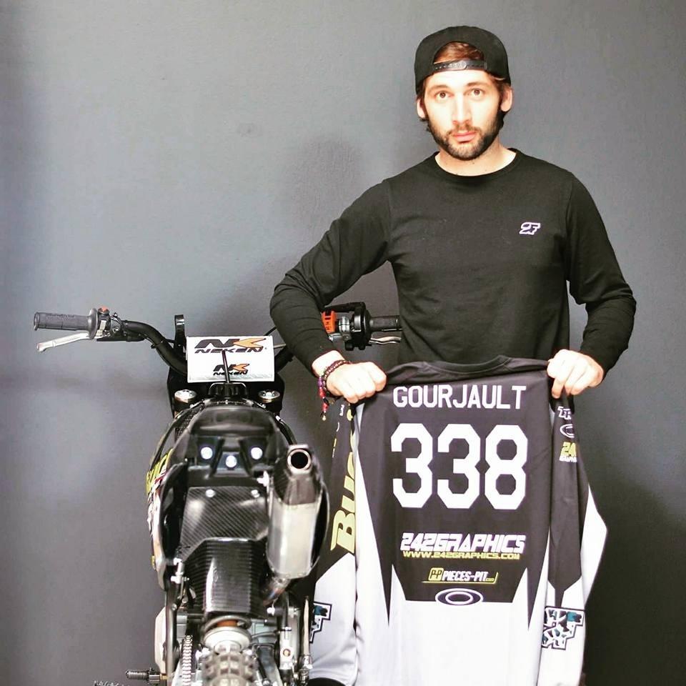 Gauthier GOURJAULT pit bike