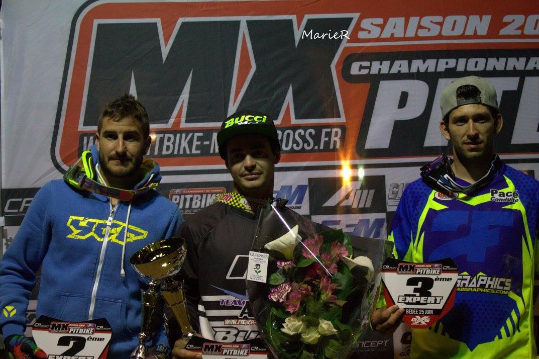 championnat france bédée pit bike expert