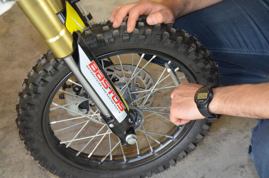 clé rayon pit bike