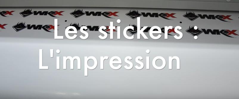 stickers wkx racing pit bike impression