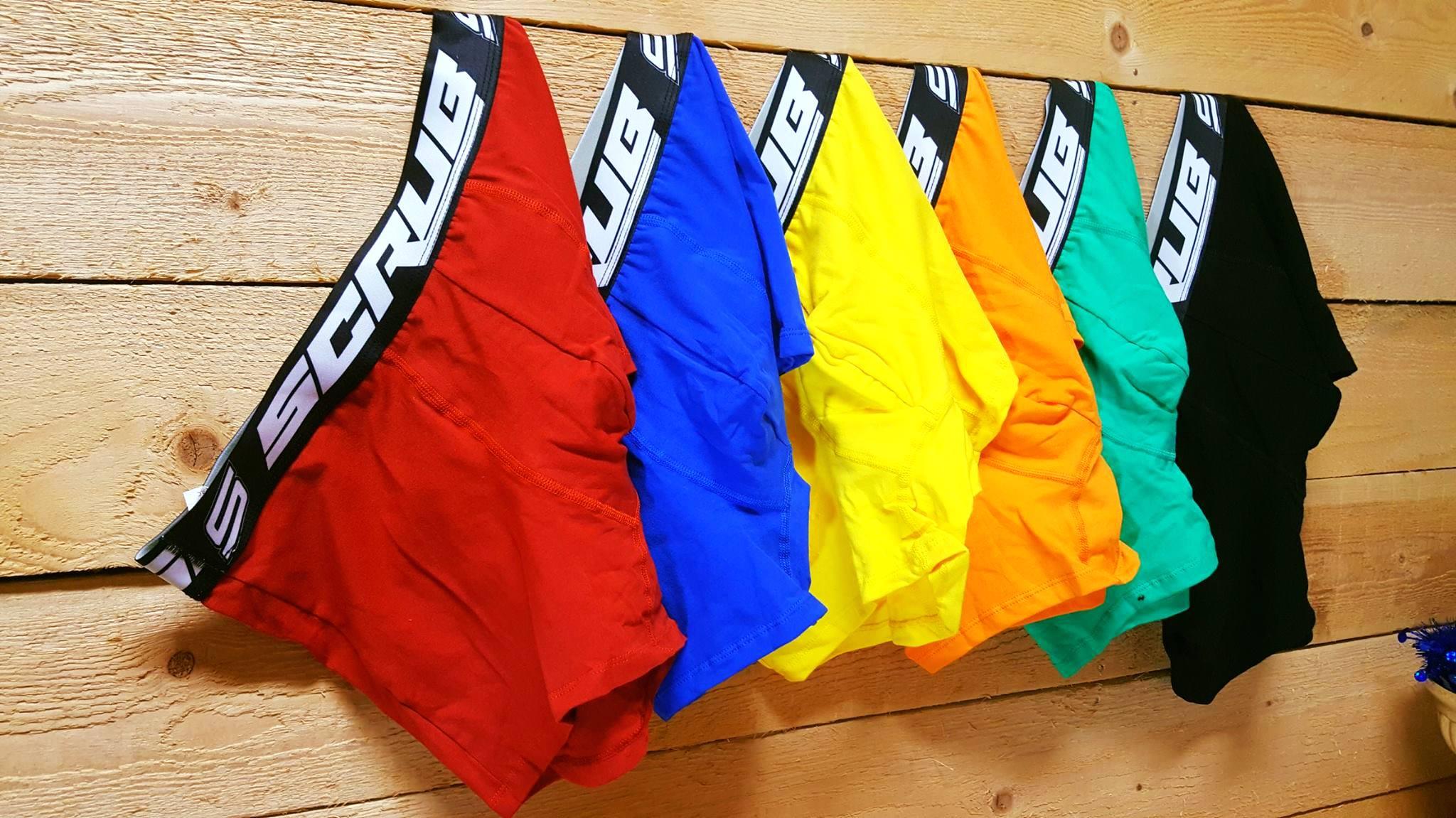 boxer scrub underwear