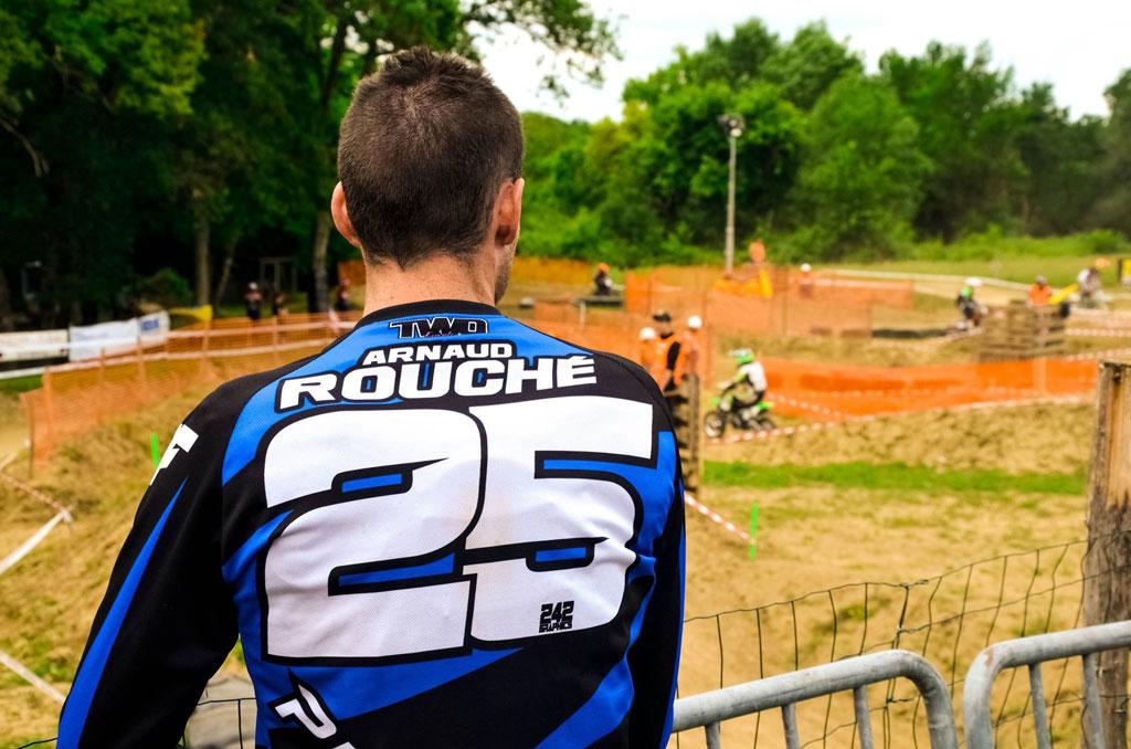 arnaud Rouche pit bike